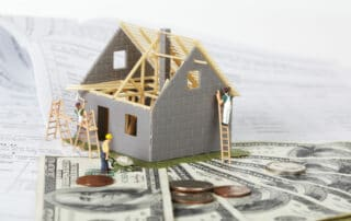 how to pay for a new roof house under construction with money