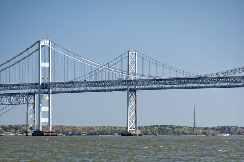 Maryland Bay Bridge For Roofing By Landmark Blog About Chesapeake Bay Bridge Weather Impacting Roofs