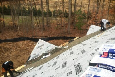 Roof damage in Annapolis