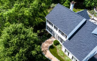 Landmark Roofing Aerial Photo
