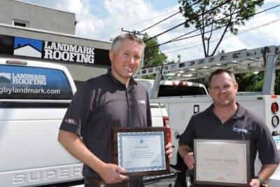 Landmark Award Certificate