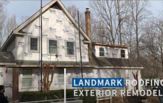 Landmark Exterior Siding Project